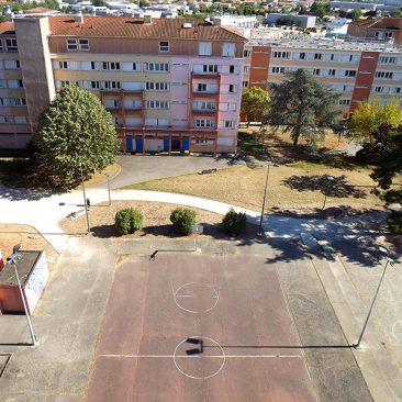 Terrain de basket