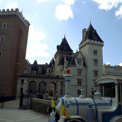 Château et train