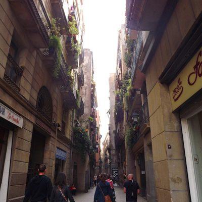 Ruelle de Barcelone