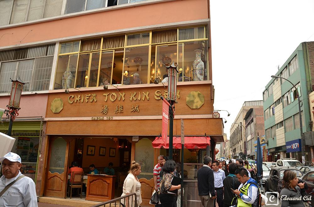 Chifa : restaurant chinois