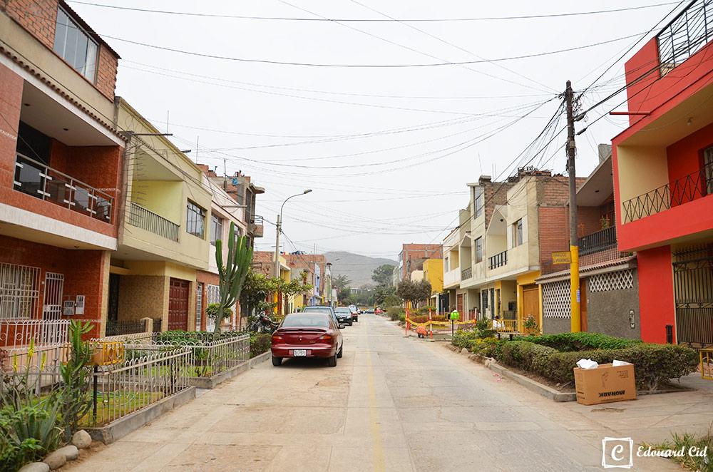 Rue à Lima