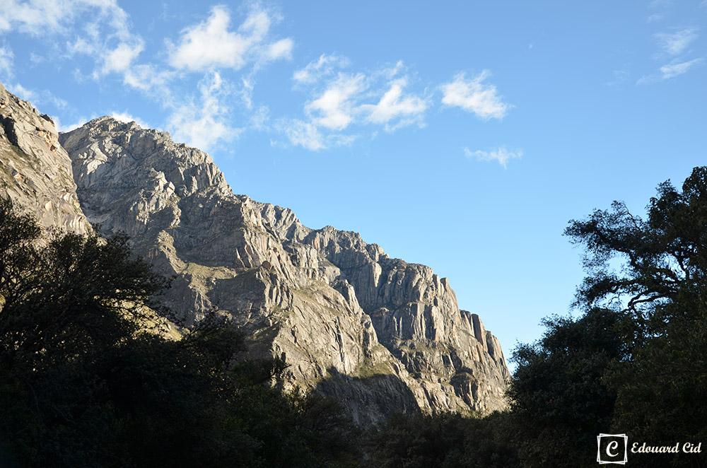 Montagne à Llanganuco