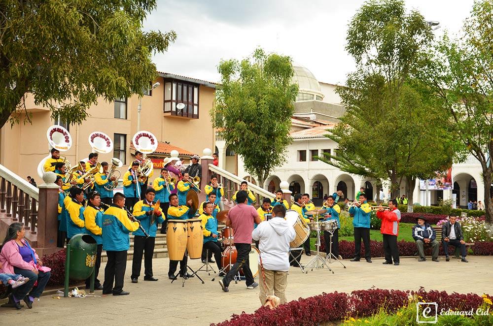 Musiciens Huaraz