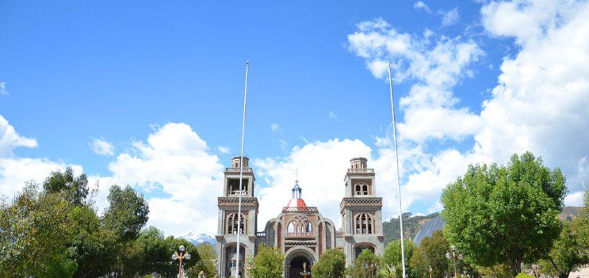 Huaraz – la plaza de armas