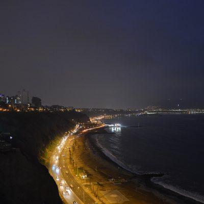 Vue sur l'océan de Miraflores