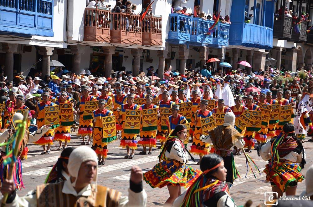 Guerriers incas