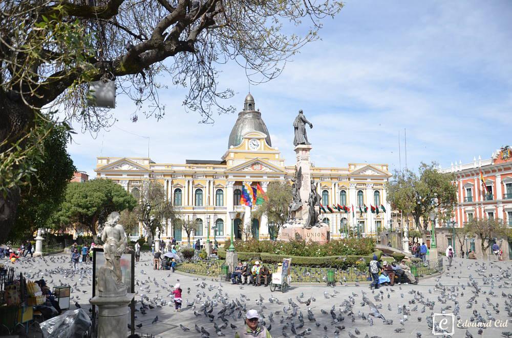 Place principale de La Paz