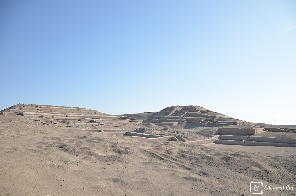 Cahuachi, temple de Nasca