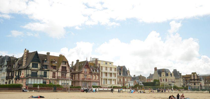 Sur les plages de Normandie