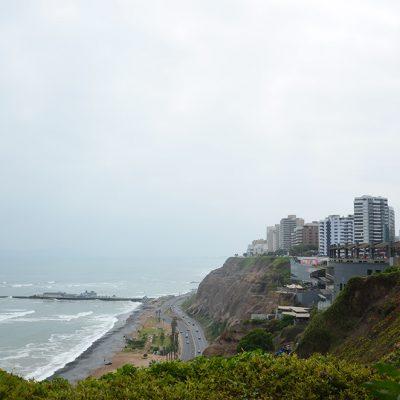 Vue de l'océan à Larcomar
