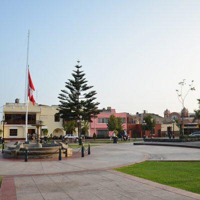 Place Bolivar à Lima