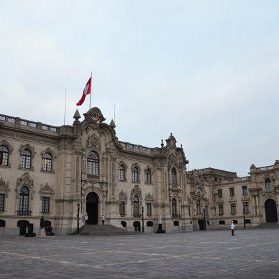Palais royal à Lima