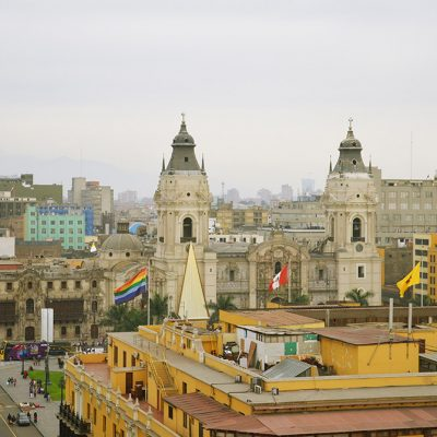 Place de la nation à Lima