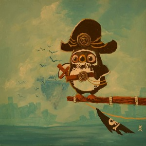 Christian Ayuni - Oiseau pirate