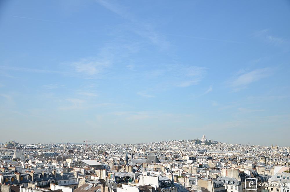 Sur les toits de Paris, vue sur le Sacré Coeur