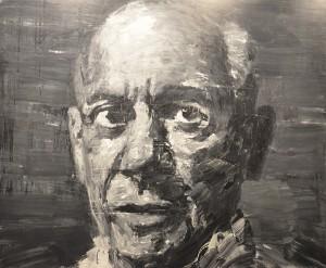 Portrait de Picasso par Yan Pei-ming