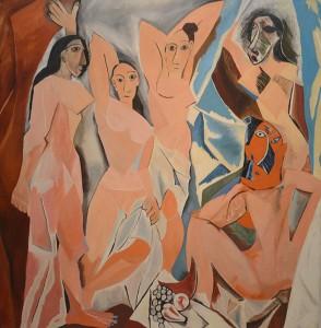 Les Demoiselles d'Avignon par Mike Bidlo