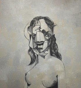 Painting drawing de George Condo