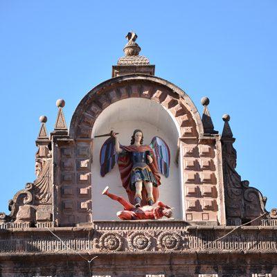 Haut de la basilique de la cathédrale
