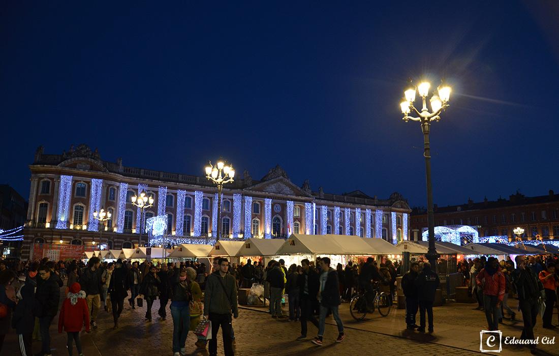Place Capitole de nuit