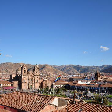"""""""Plaza de armas"""" à Cusco"""