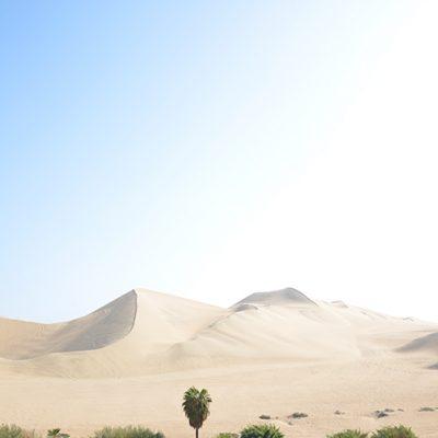Dunes à Huacachina