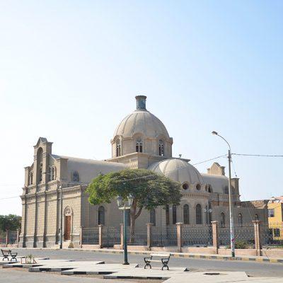 Eglise abandonnée à Ica