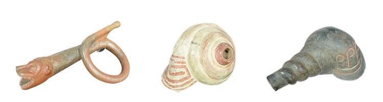 Instruments de musique de l'ancien Pérou
