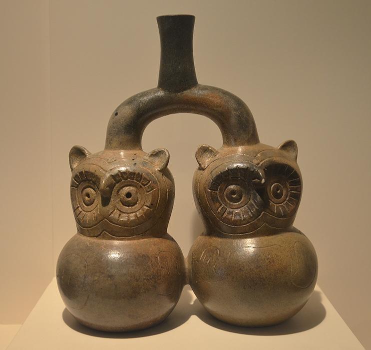 Céramique du hiboux, vase cupisnique