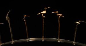 Tupus en forme d'oiseaux - Chimu