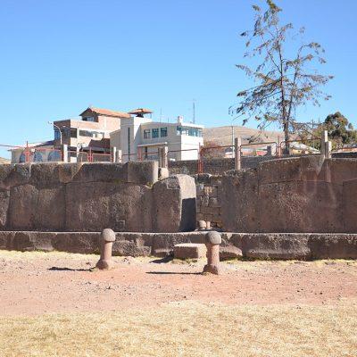 Entrée du temple Chucuito