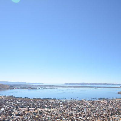 Le lac Titicaca de Puno