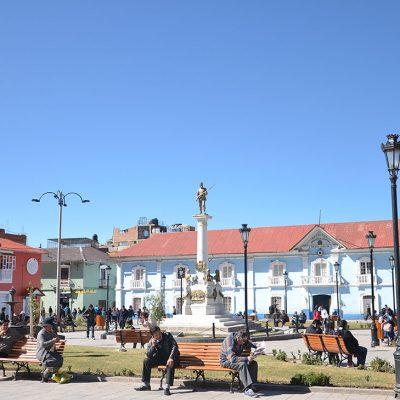 Place principale de Puno