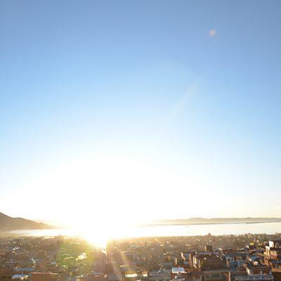 Le soleil se lève sur Puno