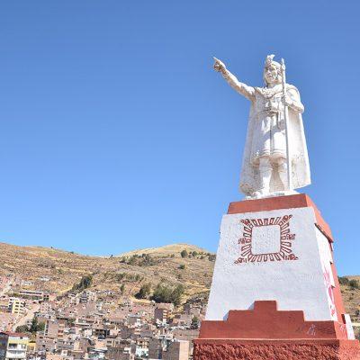 Statue de l'inca Manco Capac