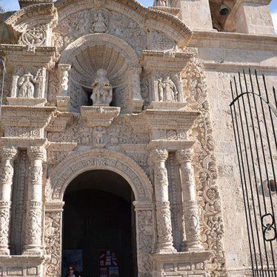 Eglise Cayma à Arequipa