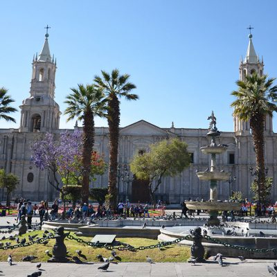 Grande cathédrale d'Arequipa