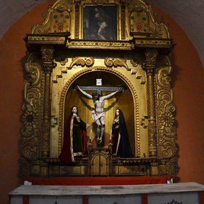 Chapelle représentant Jésus