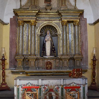 Chapelle du monastère Santa Catalina