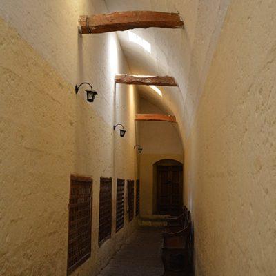 Parloir du monastère