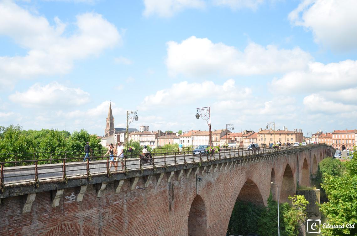 Vieux pont à montauban