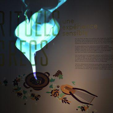 Rituels grecs - Exposition