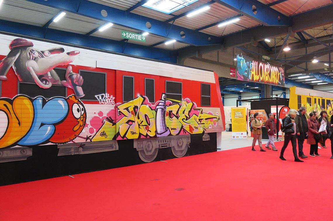 Safari urbain à la foire de Toulouse