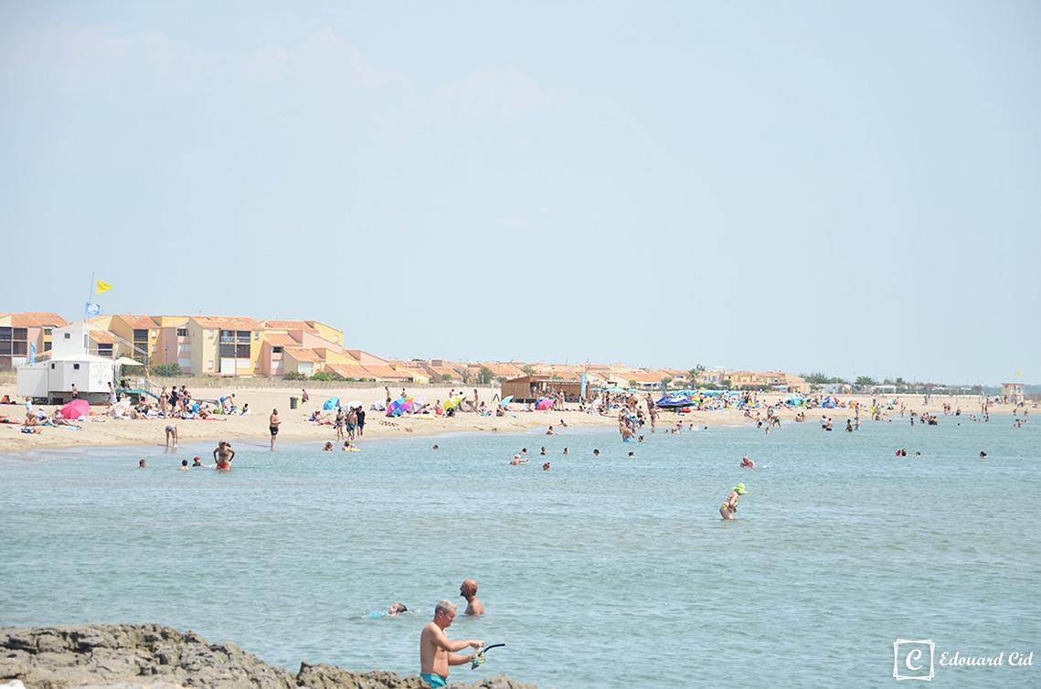 La plage à Saint-Pierre