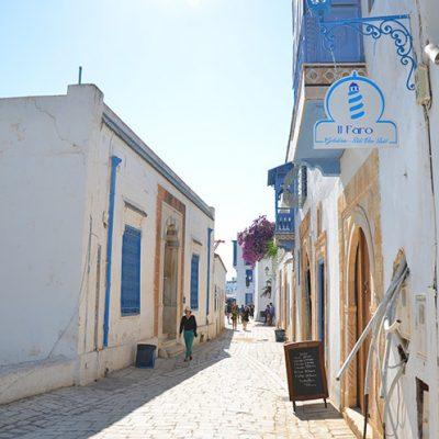 Rue de Sidi Bou Saïd